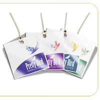 Luster (Gloss Laminated) Hang Tags