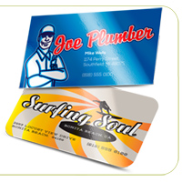 Luster (Gloss Laminated) Business Cards