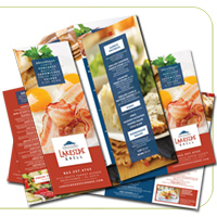 Roll Fold Brochures