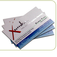Cold Foil Business Cards