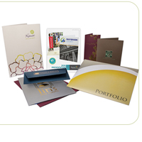 Presentation Folders 100LB  Cover AQ
