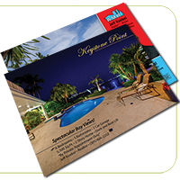 Cold Foil Full Color Sell Sheets